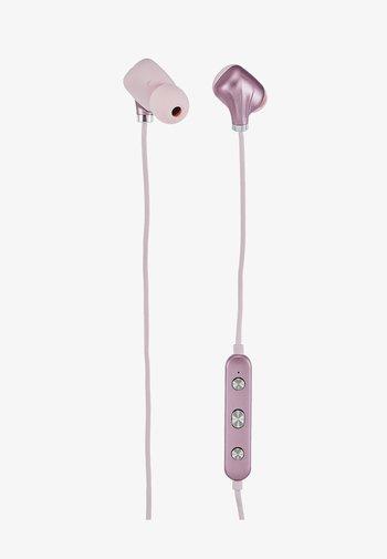 EAR PIECE II - Headphones - pink/gold-coloured