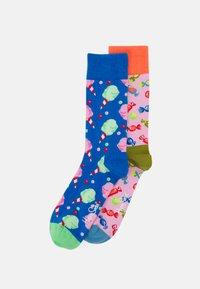 Happy Socks - CANDY SOCK 2 PACK UNISEX - Socks - multi - 0