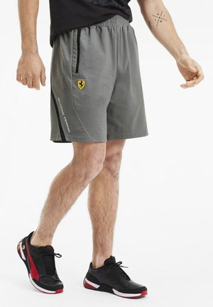 SCUDERIA FERRARI - Shorts - medium gray heather
