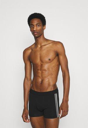 3PACK Shorts Organic Cotton Softbund - 95/5 Stretch - Onderbroeken - schwarz