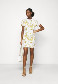 Versace Jeans Couture - DRESS - Jersey dress - white - 1