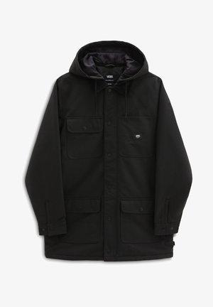 MN DRILL CHORE COAT LONG MTE-1 - Short coat - black