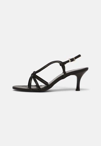 PUDRA - Sandals - black