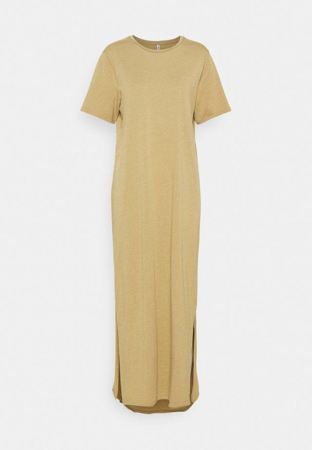 ONLSILLA LIFE DRESS TALL - Długa sukienka - elmwood