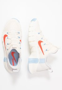 Nike Performance - FREE METCON 3 - Sports shoes - pale ivory/team orange/vast grey/psychic blue/sail - 1