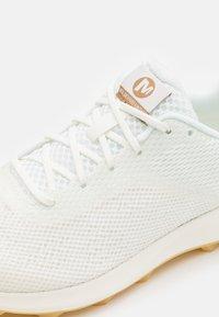 Merrell - MTL SKYFIRE UNDYED - Trail running shoes - white - 5