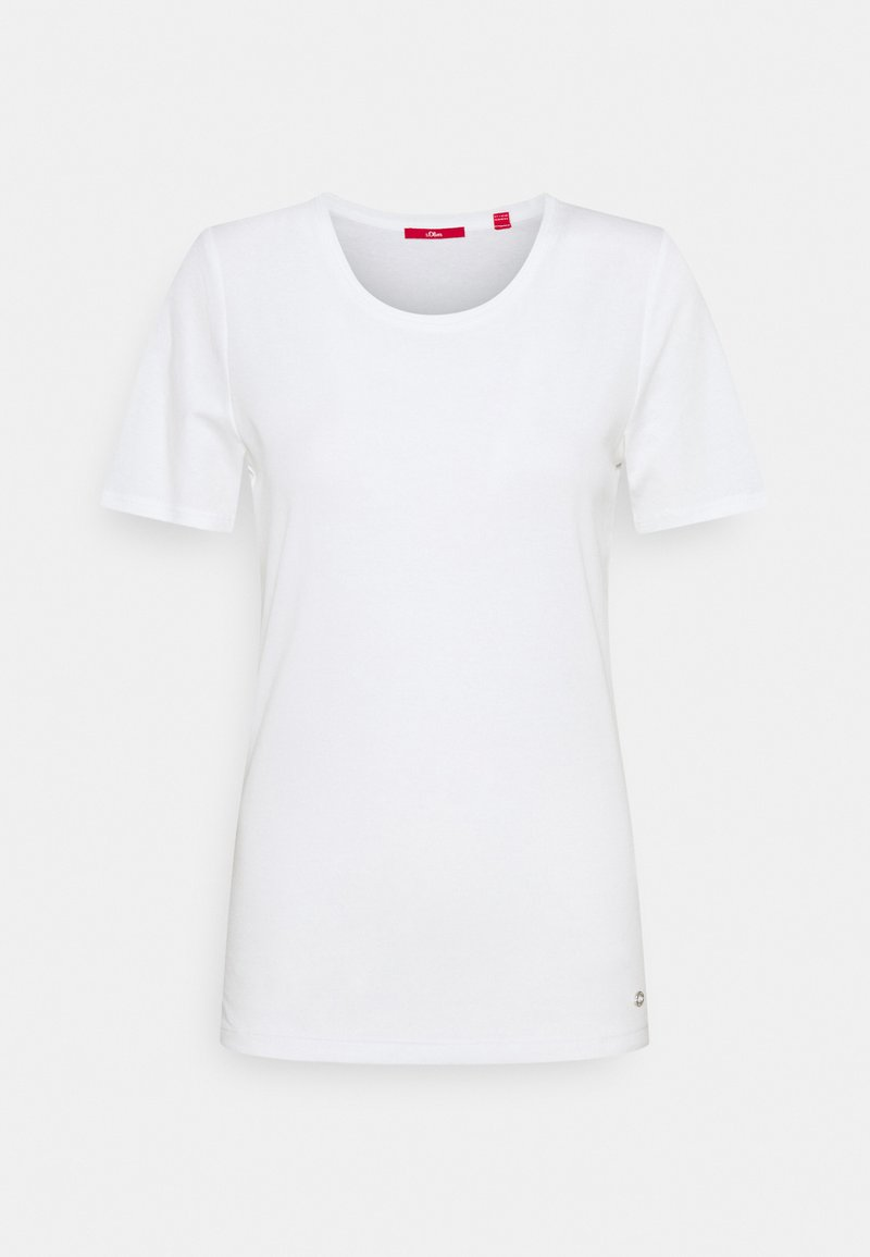 s.Oliver - KURZARM - Basic T-shirt - white