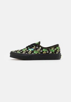 THE SIMPSONS AUTHENTIC GLOW IN THE DARK - Sneakersy niskie - black