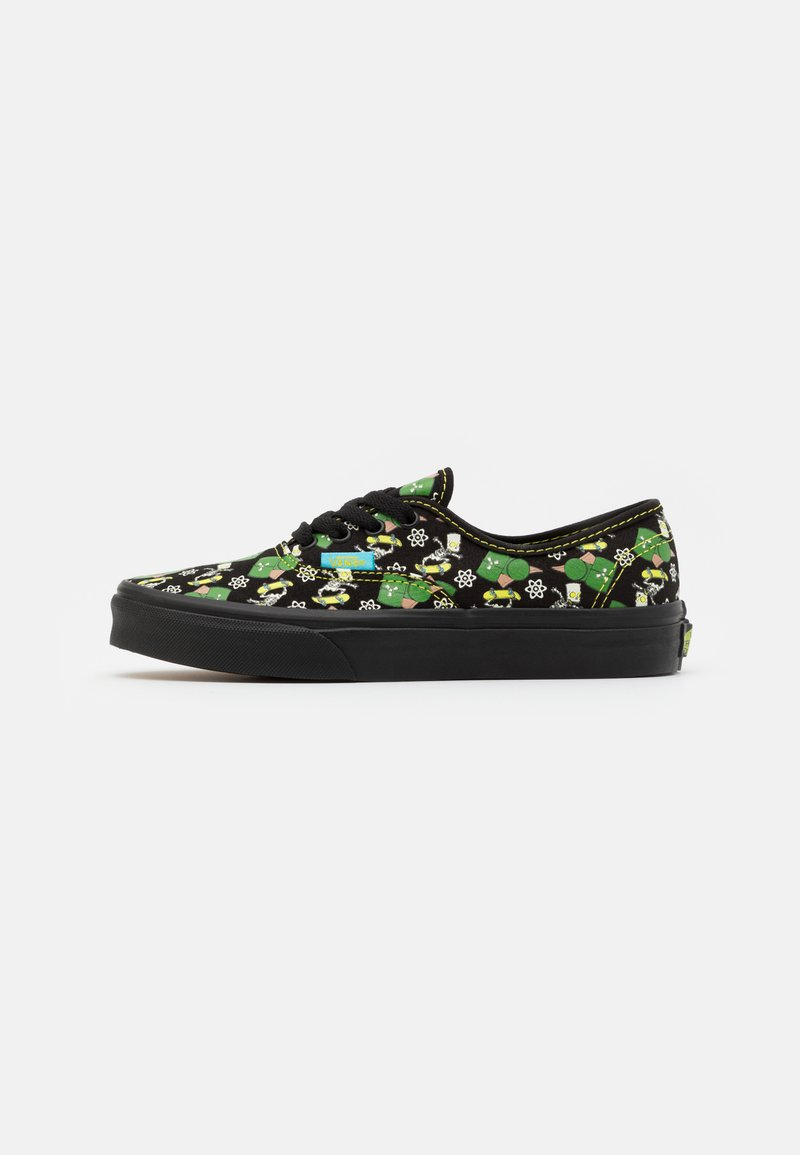 Vans - THE SIMPSONS AUTHENTIC GLOW IN THE DARK - Trainers - black