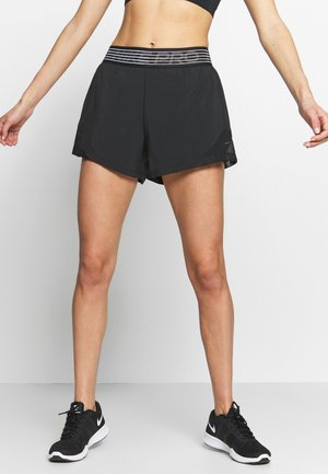 SHORT  - Träningsshorts - black/thunder grey