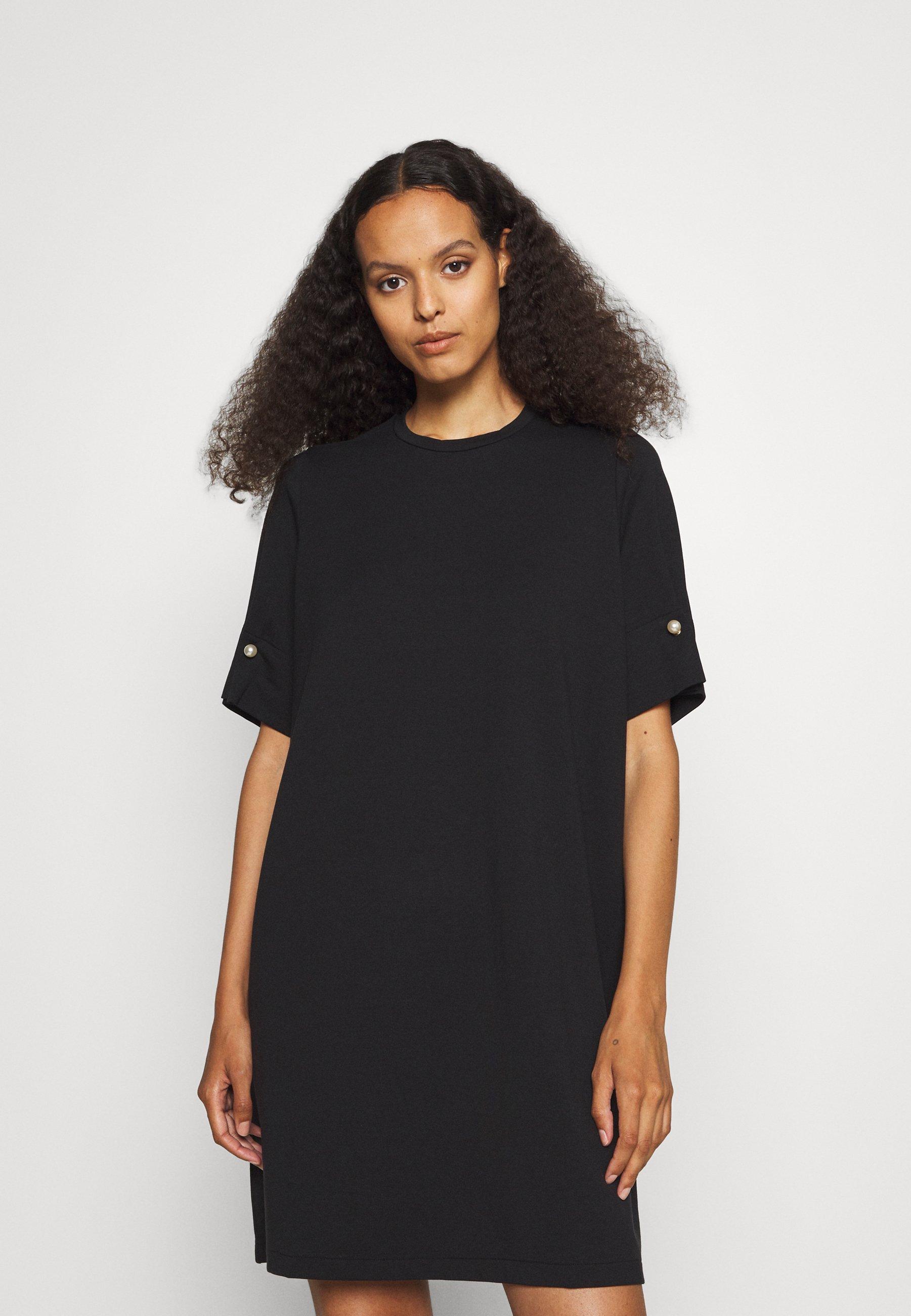 Damen T-SHIRT DRESS WITH BAR - Jerseykleid