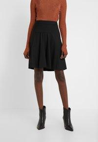 HUGO - RISELLA - Mini skirt - black - 0