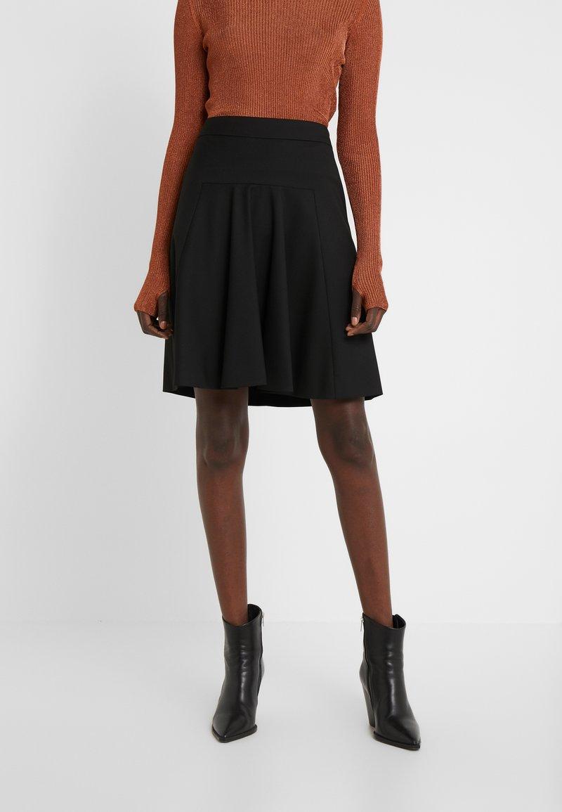 HUGO - RISELLA - Mini skirt - black