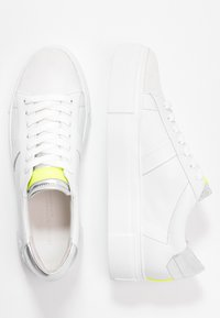 Kennel + Schmenger - BIG - Trainers - bianco/silver/neon yellow - 3