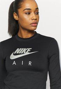 Nike Performance - AIR MID - Sports shirt - black/silver - 4