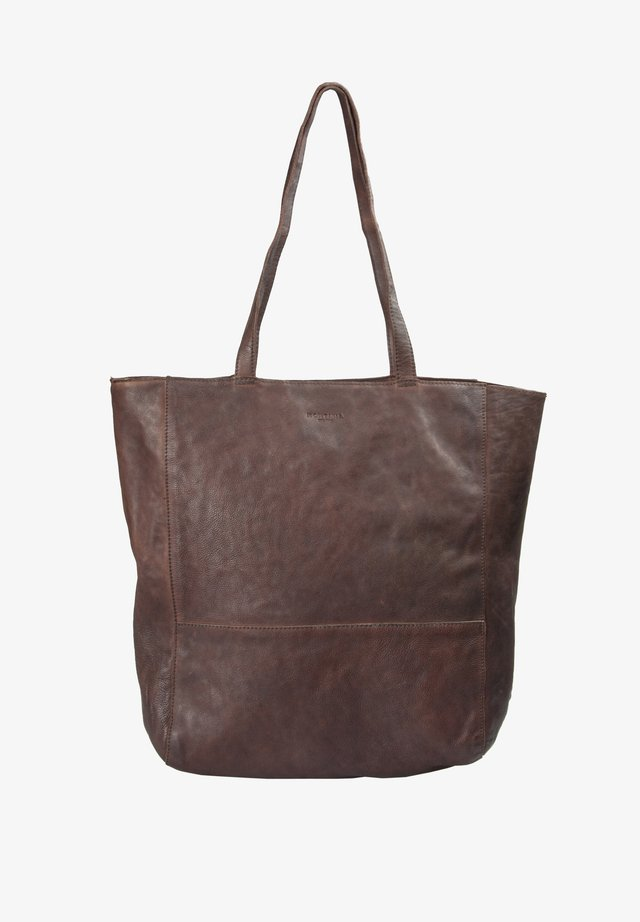 ROSEBUD - Tote bag - brown