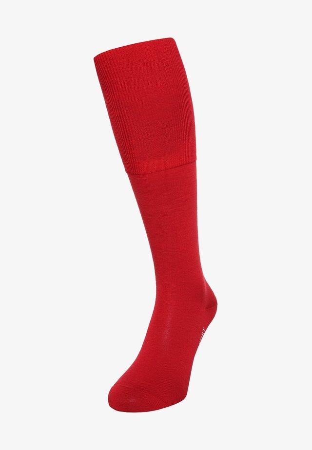 AIRPORT - Knee high socks - scarlet