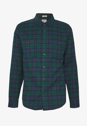 WORK SHIRT - Shirt - kansas green/black