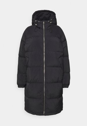 COAT - Down coat - black dark