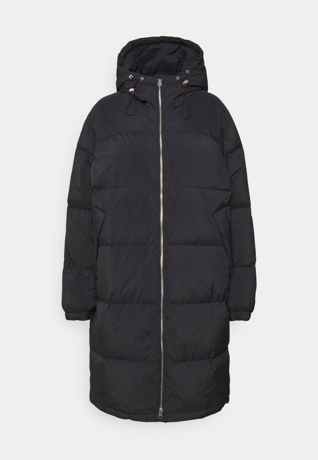 COAT - Down coat - black dark