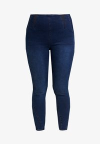 Simply Be - HIGH WAIST SHAPER - Jeans Skinny Fit - indigo - 3