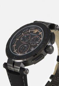 Versace Watches - GRECA - Chronograph watch - black - 6