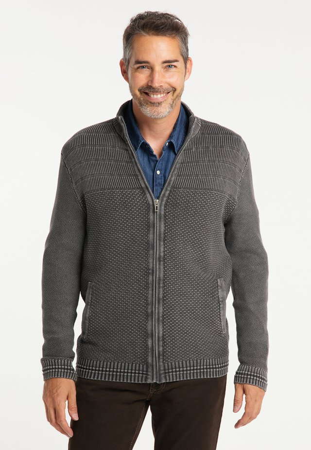 Cardigan - grey rock