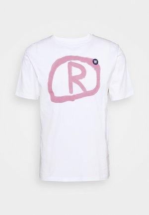 ACE - T-Shirt print - bright white