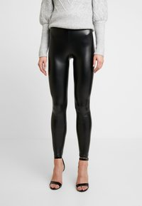 Cotton On - CHELSEA HIGH WAISTED - Leggings - Trousers - black - 0