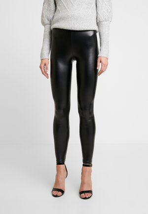 CHELSEA HIGH WAISTED - Leggingsit - black