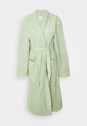 KIMONO BATHROBE - Dressing gown - eucalyptus