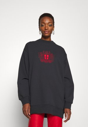 RELAXED CREW - Sweatshirt - faded black