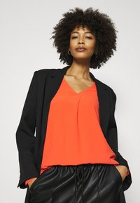 Opus - FASINA - Long sleeved top - fresh coral - 3