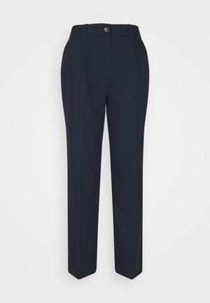 SLFBLUE ANKLE PANT - Trousers - dark sapphire