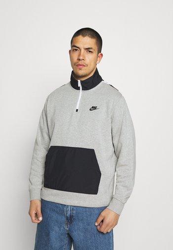 Sweatshirt - grey heather/black