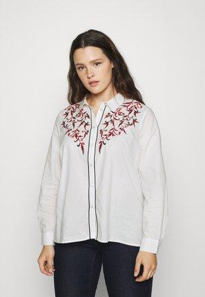 VILOTTY  - Button-down blouse - cloud dancer