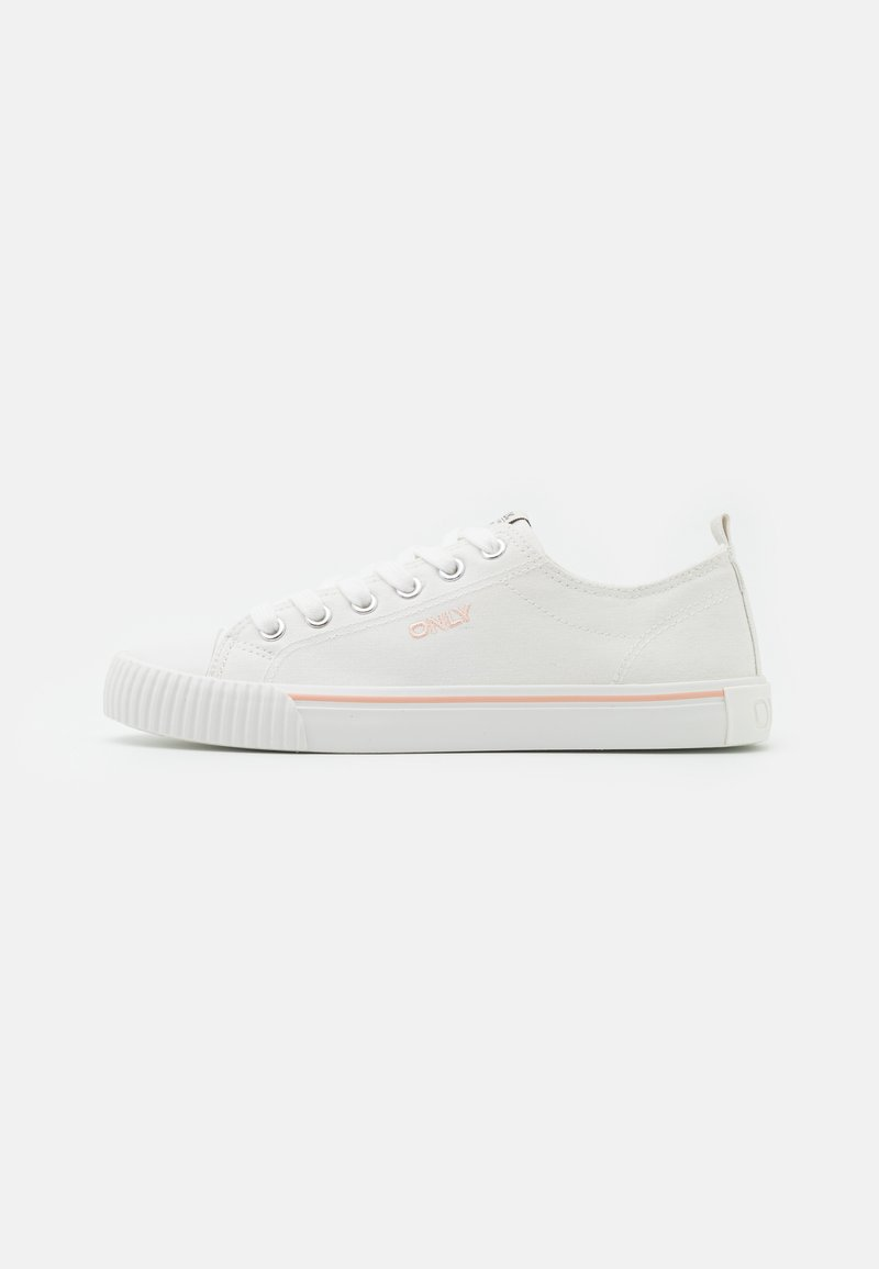 ONLY SHOES - ONLSUNNY LOGO  - Baskets basses - white
