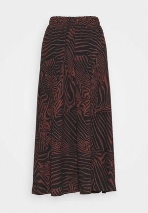 ONLZILLE SKIRT - Maxi sukně - port royale/upscale