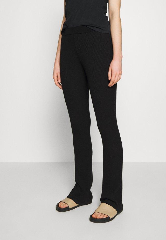 ALVIN PANTS - Pantalon classique - black