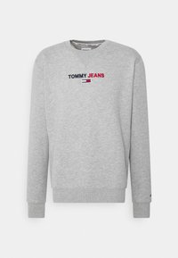 Tommy Jeans - LINEAR LOGO CREW - Sweatshirt - grey - 4
