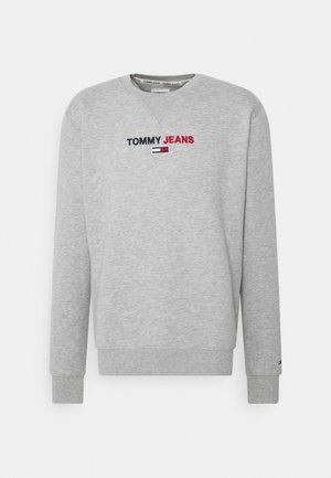 LINEAR LOGO CREW - Sweatshirt - grey
