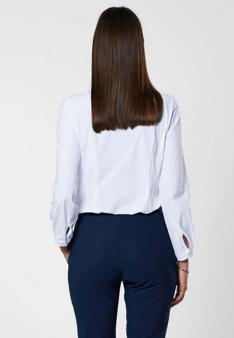 Evita Overhemdblouse - white - Dameskleding Origineel