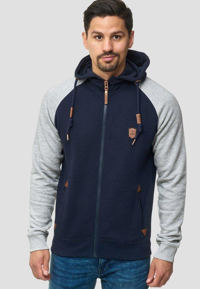 ARBUTUS - veste en sweat zippée - navy