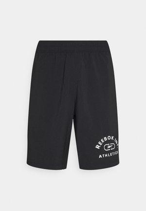 GRAPHIC SHORT - Sportovní kraťasy - black/white
