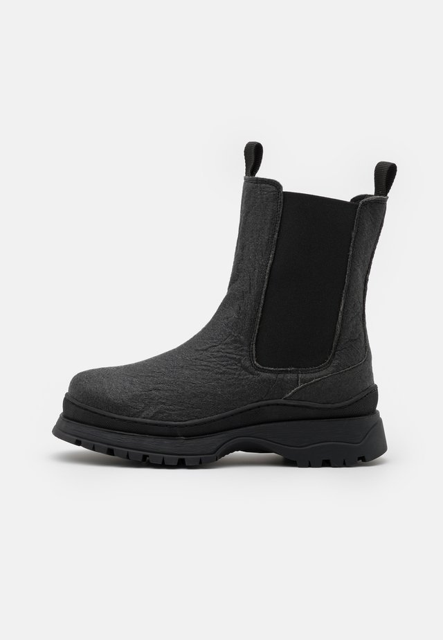 SLFLUCY CHELSEA BOOT  - Platform ankle boots - black