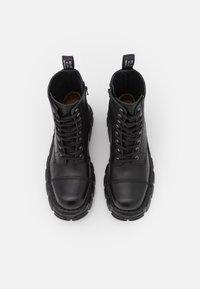 New Rock - UNISEX - Platform ankle boots - black - 3
