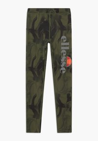 Ellesse - BRULAN PERFORMANCE LEGGING - Punčochy - dark green - 0