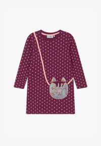 happy girls - Jersey dress - berry - 0
