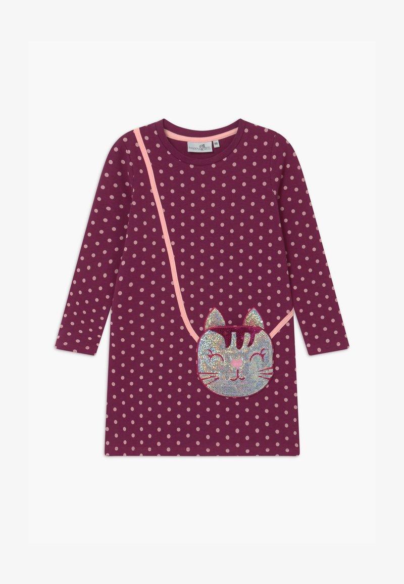 happy girls - Jersey dress - berry