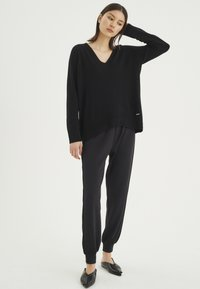 InWear - Tracksuit bottoms - black - 1